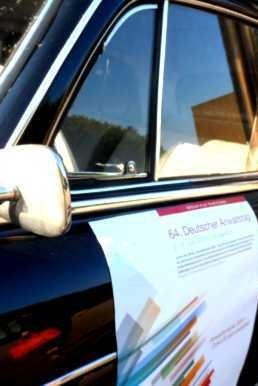Auto vor dem Anwaltstag