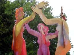 Tanzende Skulpturen