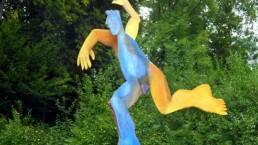 Skulptur Tänzer