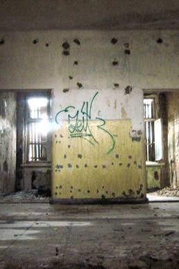 Foto aus einer maroden Kaserne bei Berlin