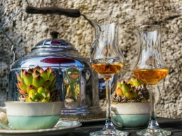 Beispielfoto: Abbildung eines Glases